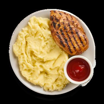 Куриное филе с пюре